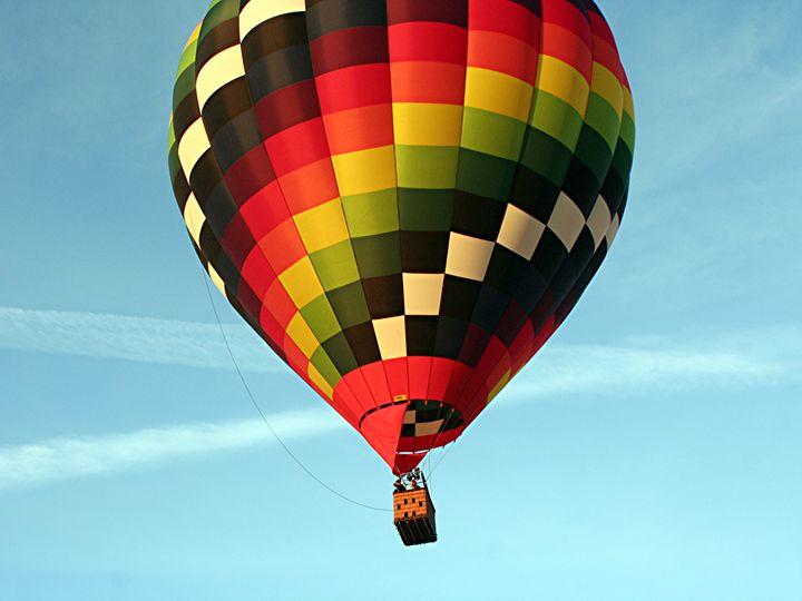 Hot Air Balloon Aloft - Fran West