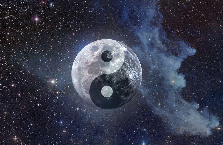 Luna Yin Yang Moon - Kitty Bitty