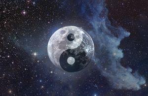 Luna Yin Yang Moon