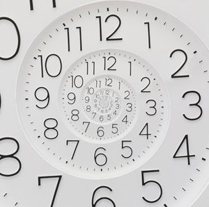Spiral Clock Droste