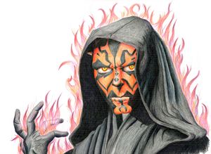 Hatred of Darth Maul