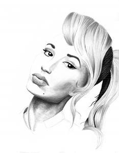 Iggy portrait