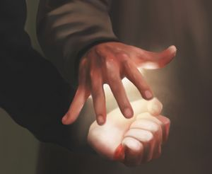 Destiel Hand Healing