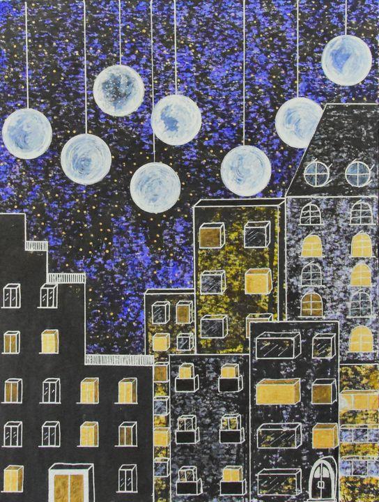 Land Of Infinit Moons - Nina Pietsch