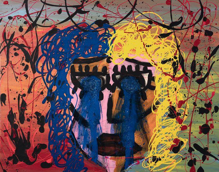 """""""The Crying Woman"""" by Malia Nahinu - Malia Nahinu"""