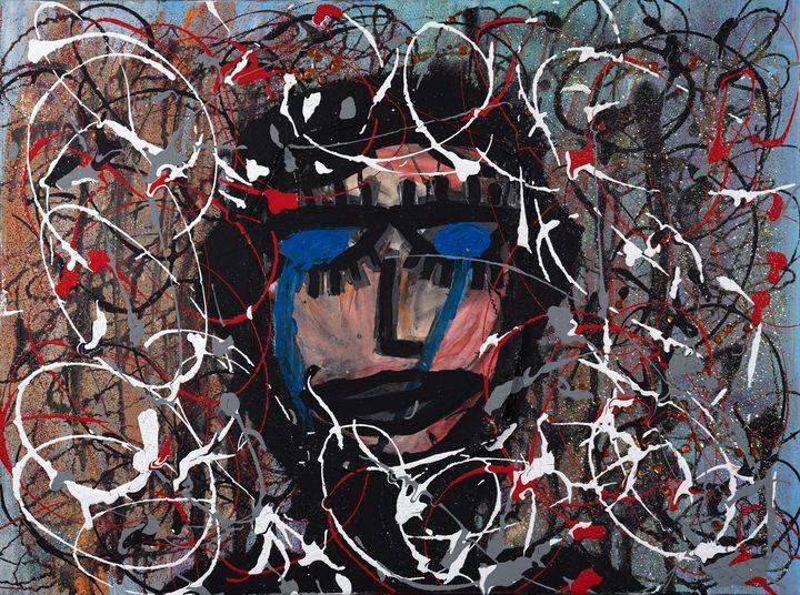 """""""The Crying Man"""" by Malia Nahinu - Malia Nahinu"""