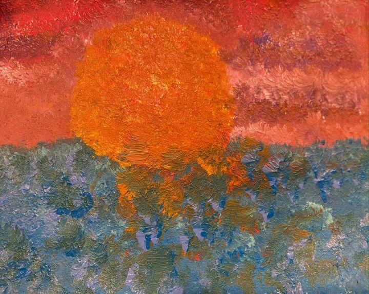 The Sun is born of The Ocean - Malia Nahinu