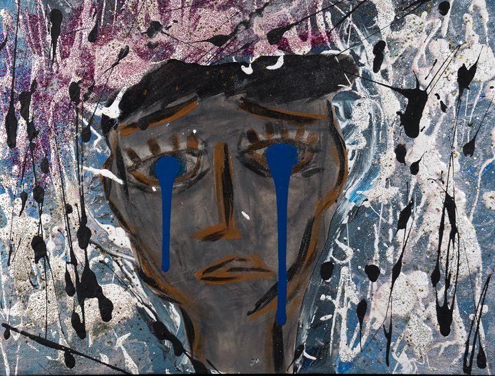 The Crying Man by Malia Nahinu - Malia Nahinu