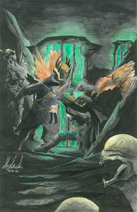 Left Behind - Art of the Bird Ninja