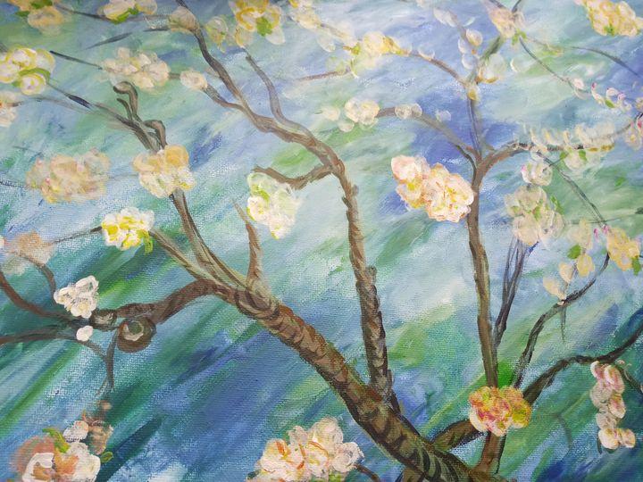 Blossom after Van Gogh - Cristina's Gallery