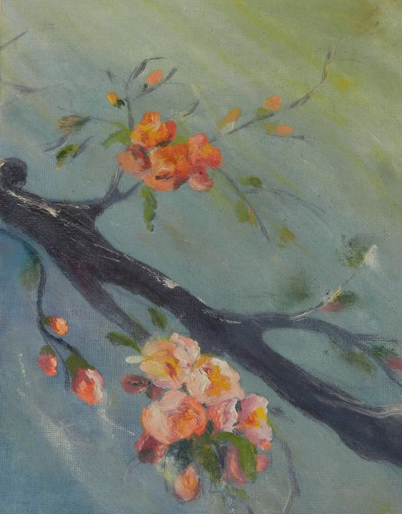 Quince Flowers 2 - Cristina's Gallery