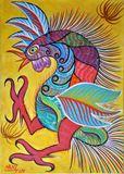 64 x 33 cms Brazilian painting