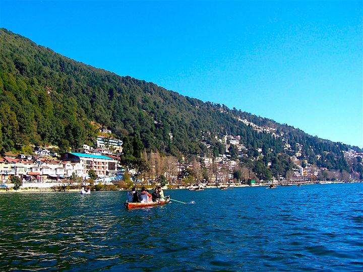 Boating In Lake - Seema Kumar