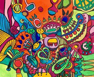 BLOOM crazy colorful garden fantasy