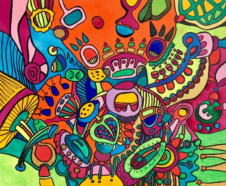 BLOOM crazy colorful garden fantasy - VeeraZukova