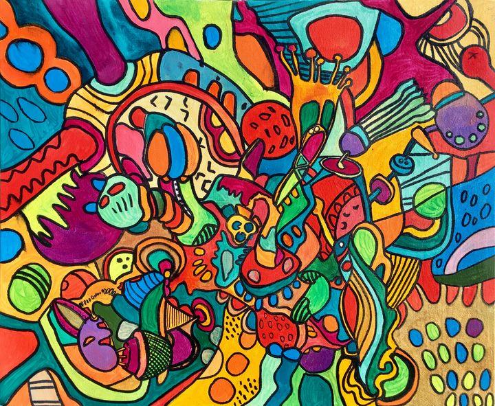 COLOR 7 crazy colorful mystery world - VeeraZukova