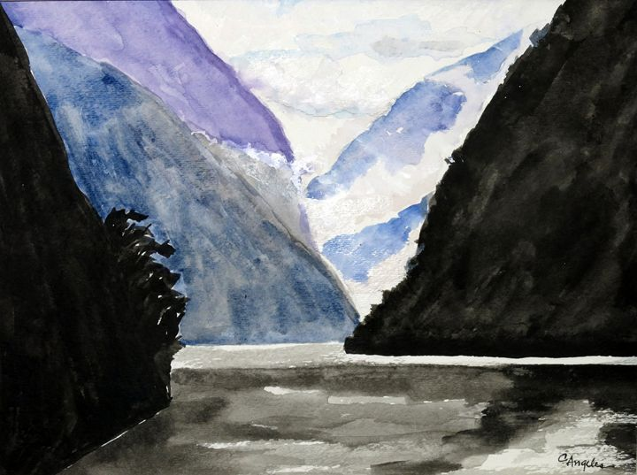 Fiords, Doubtful Sound - Oils and More