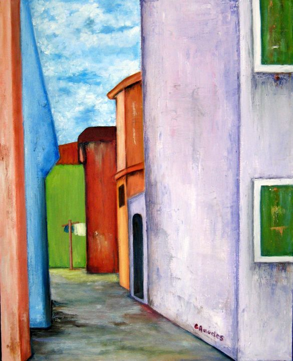 Burano Alley - Oils and More