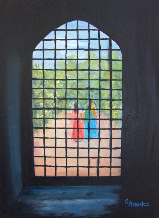 The Indian Courtyard - Oils and More