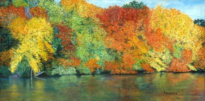 The Magic of Autumn - Oils and More