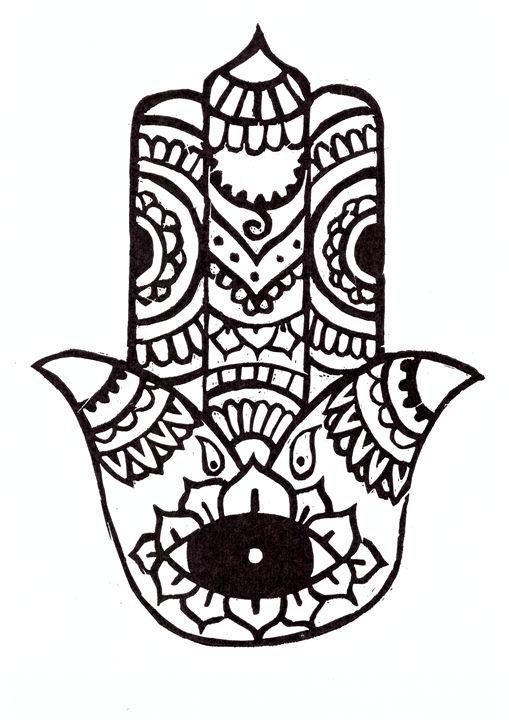 Hamsa hand - Salvatore