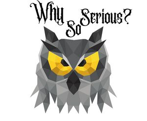"Owl Jocker, ""why so serious"""
