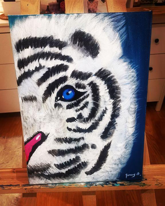 White Tiger - Aleksandra Janus