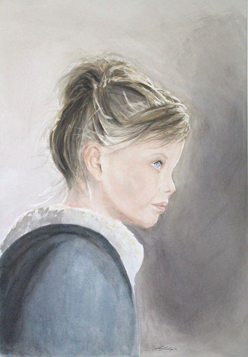Winter's Child - Rachael Curry Art