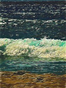 Ocean Close Up