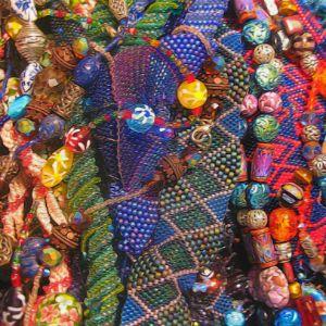 Beaded Jewelry Still Life