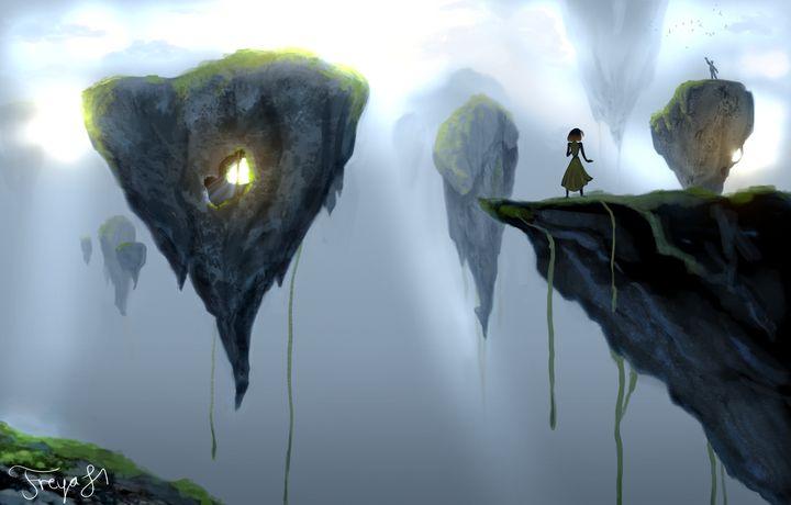 Social Distancing - Freya Hammar - Digital Art, Fantasy & Mythology,  Dreamscapes - ArtPal