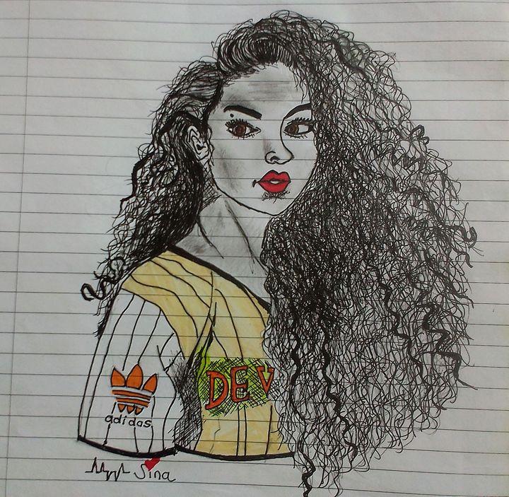 Teenage girl - Hassina