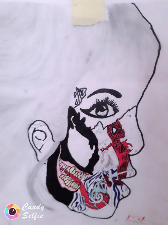 Spiderman face - Luminita dumitru