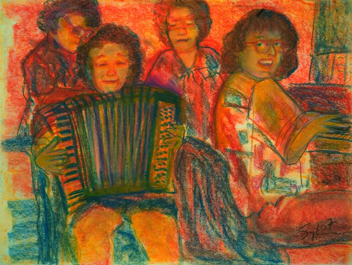 Happy Music - Sylviasartworks