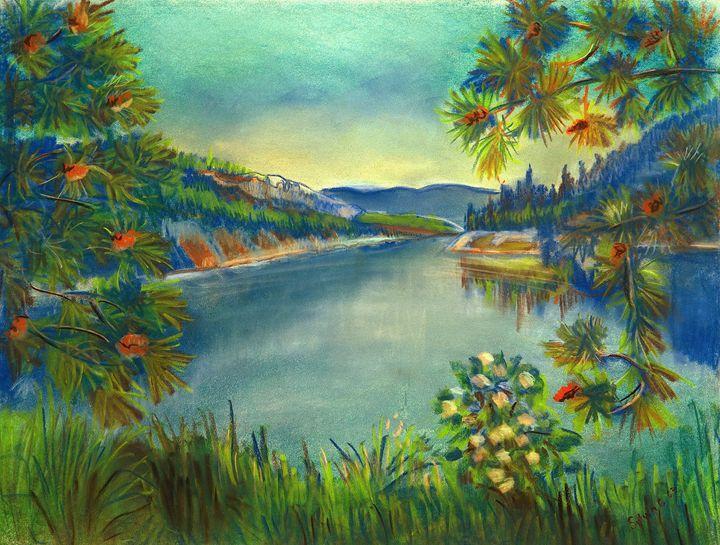 Blue River - Sylviasartworks