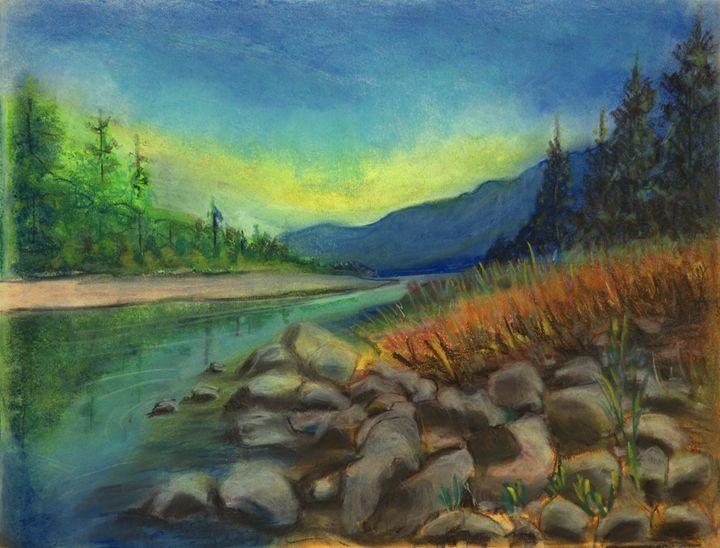 Timeless River - Sylviasartworks
