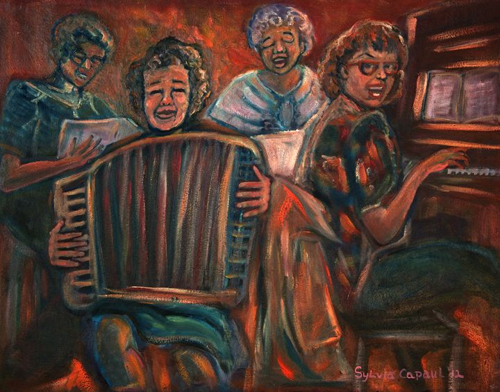 Family Music - Sylviasartworks