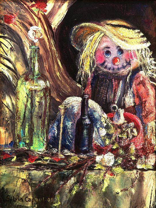 Halloween Still Life - Sylviasartworks