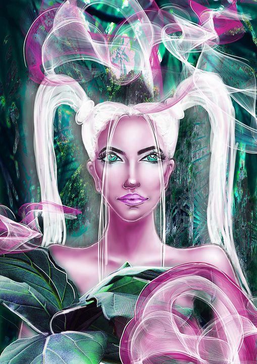 Jungle Girl - MERI ARTWORLD
