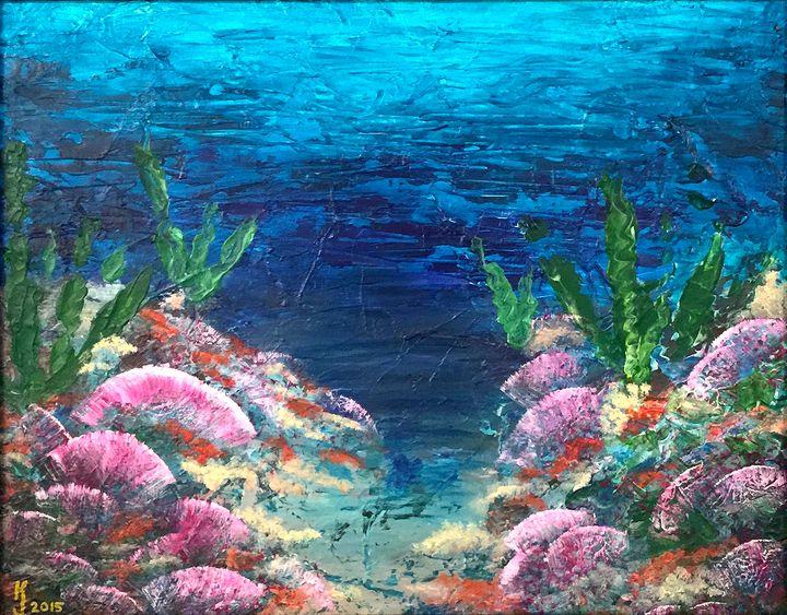 Under the Sea - KJ Burk Fine Art