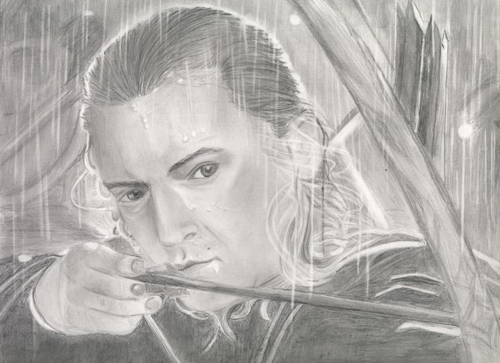 Legolas 26 - Beth's Portraits and Fan Art