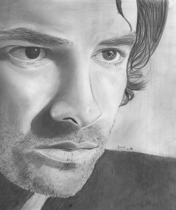 Aiden Turner 1 - Beth's Portraits and Fan Art
