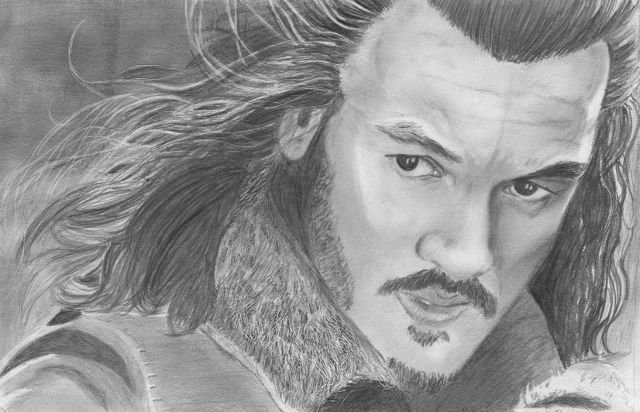 Bard the Bowman 1 - Beth's Portraits and Fan Art