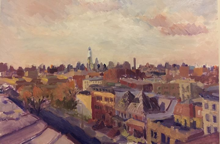 NYC Rooftop Series #3 - NYC Roof top series
