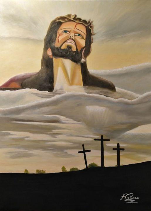 la ascensión de cristo - ANTONIO GARCIA PARRA
