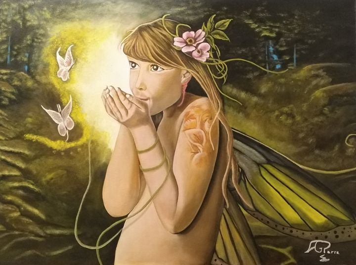 la hada de las mariposas - ANTONIO GARCIA PARRA