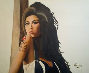retrato amy winehouse