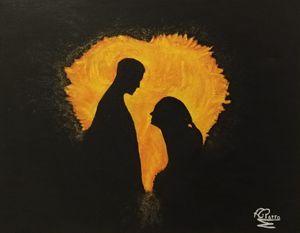 las llamas del amor