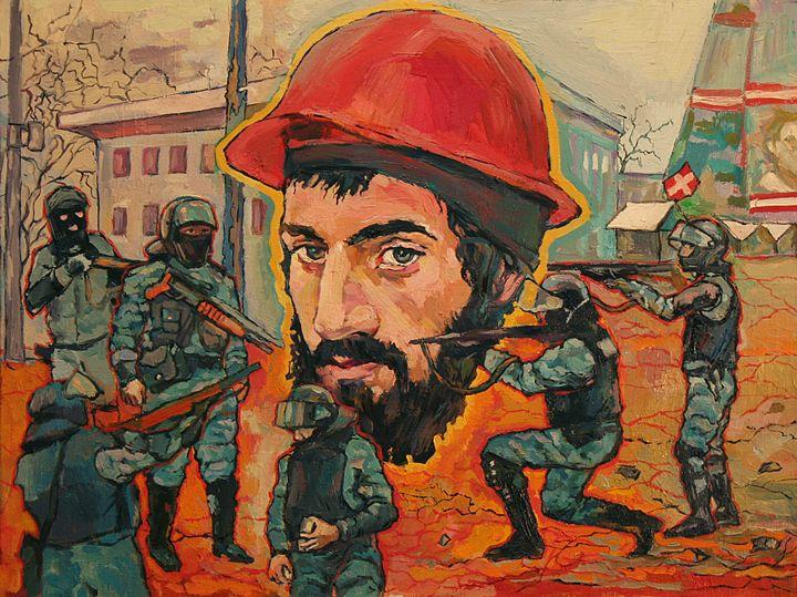 Ukrainian hero - Skullinsky