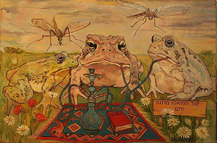 Chilling frogs - Skullinsky